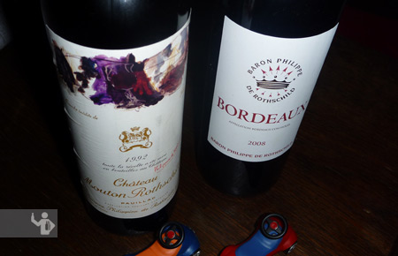 Mouton vs Bordeaux